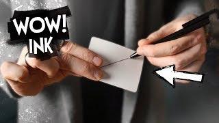 НЕВЕРОЯТНЫЕ ФОКУСЫ С РУЧКОЙ! WOW INK by ВАСИЛЬ АНТОНЯ | ОБЗОР НА РЕКВИЗИТ ДЛЯ ФОКУСОВ