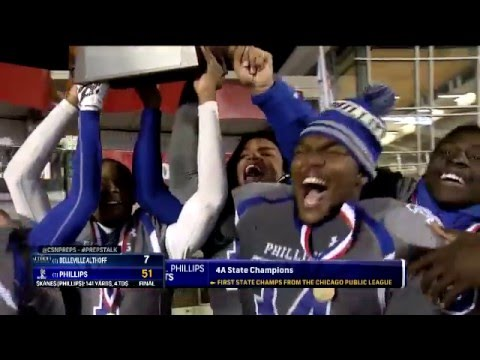 4A State Championship Highlights: Phillips 51, Althoff Catholic 7