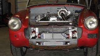 MG MIDGET RACING BUILD UP * SCCA, NASA, RALLY CROSS RACING *2.2 CHEVY,5-SP.TURBO,GIANT KILLER part 3