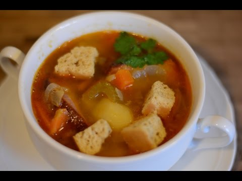 Гороховый Суп с Копчеными Ребрышками в Мультиварке Redmond RMC-P350 Рецепты для Мультиварки