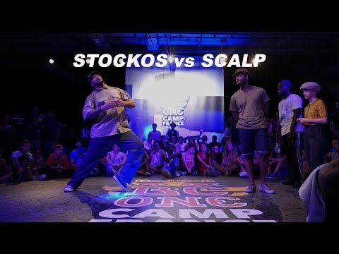 Stockos vs Scalp - 7 to smoke Popping - RedBull BC One Camp France 2018