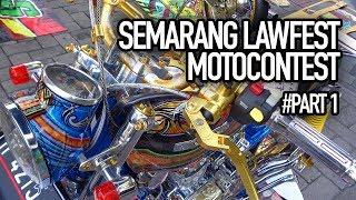 lawfest motocontest 2019 semarang part 1 kontes motor modifikasi ototrend
