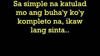 Simpleng Tulad Mo by MJ Magno Lyrics