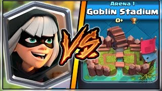 BANDIT TROLLING ARENA 1 IN CLASH ROYALE | FUNNY MOMENTS & BANDIT GAMEPLAY!