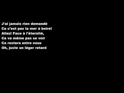 Céline Dion - Encore un soir (paroles)