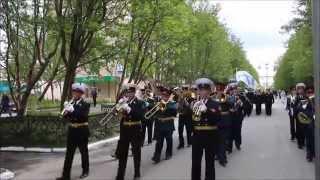 Парад 12 июня 2014 город Североморск
