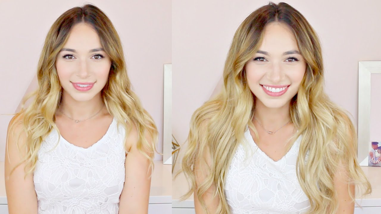 Luxy Hair Extensions Review Demo Alexandra Beuter Youtube