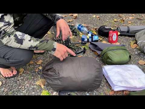 Backpack Elk Hunt Gear List (Early Season) For PNW