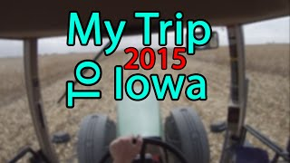 My Trip to Iowa!
