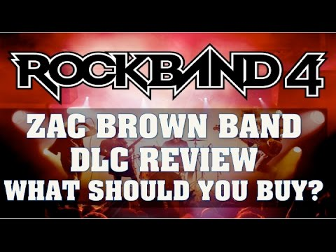 Rock Band 4 DLC Review Feb 23/16- Zac Brown Band 3 Pack - Chicken Fried, Homegrown, The Wind