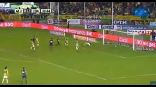 Gol de #Silva - Aldosivi 0 - 4 Boca - Futbol de Argentina 2017 - Fecha 28