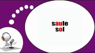 Французского видео урок = Фонетика # Au O