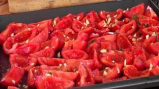 Cancer Fighting Foods: Herby Oven-dried Tomatoes; Anti-cancer Diet