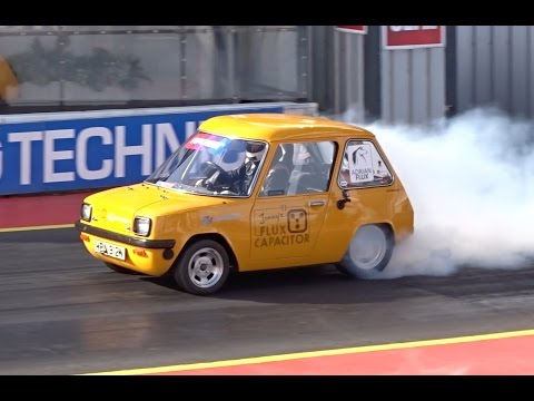 Flux Capacitor - 500+ hp Electric Enfield 8000 - 12.62 @ 101.65 mph