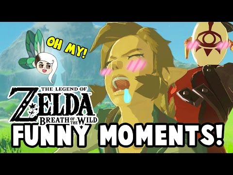 HOW I JOINED THE YIGA CLAN?! (Zelda: Breath Of The Wild Funny Moments)