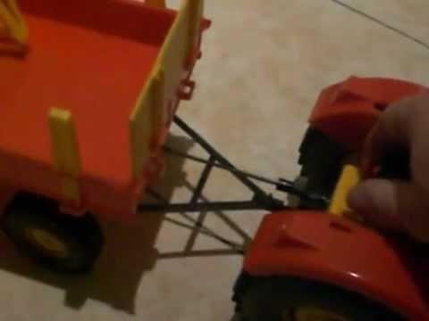 veb anker eisfeld 6120 traktor mit h nger vlek ddr youtube. Black Bedroom Furniture Sets. Home Design Ideas