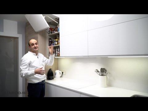 Video de cocinas modernas blancas y madera estilo n rdico - Estilos de cocinas modernas ...