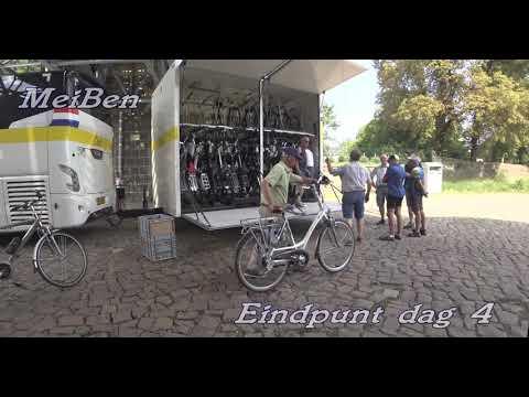 Fietstocht langs de Elbe en Dresden 2017 4K