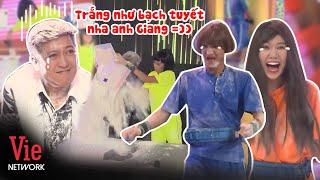 Hari Won, Mạc Văn Khoa hoá công chúa tuyết, nặng nhất là Trường Giang ăn nguyên xô bột trắng người