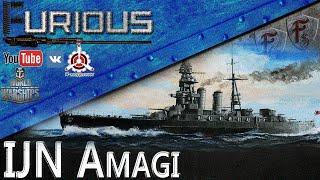 IJN Amagi. Типичность и Линкорность World of Warships