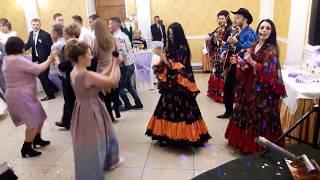 Цыганский ансамбль Арго на свадьбе. город Николаев. ресторан Астория. Цыгане на свадьбе это весело!