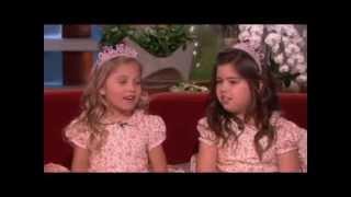 Sophia Grace & Rosie on Their Favorite TV Shows on Ellen show