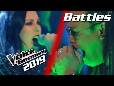 Linkin Park - Crawling (Mark Agpas Vs. Stefanie Stuber) | PREVIEW | Voice Of Germany 2019 | Battles