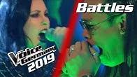 Linkin Park - Crawling (Mark Agpas vs. Stefanie Stuber) | PREVIEW | Voice of Germany 2019 | Battles