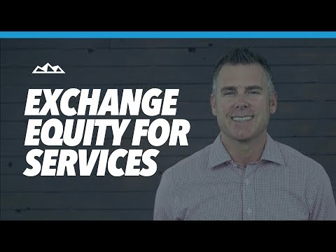 How To Exchange Startup Equity For Services | Dan Martell