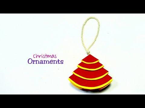 Christmas Tree Ornaments || Tree Decoration || DIY