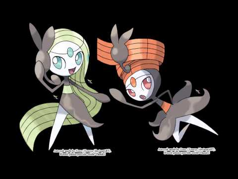 Meloetta's Relic Song And Meloetta's Song Of Love