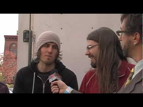 BETWEEN THE BURIED AND ME Interview at NEMHF 2010 on Metal Injection