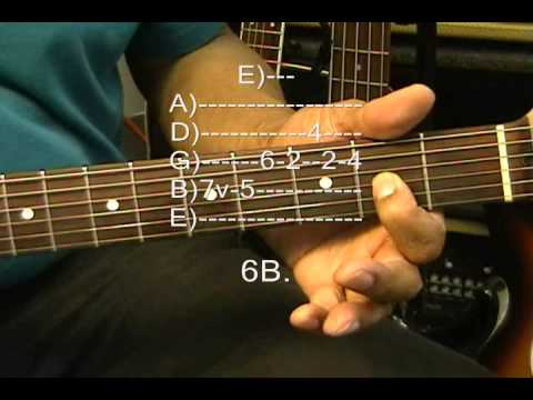 Jefferson Airplane Electric Guitar Solo Lesson Somebody To Love How