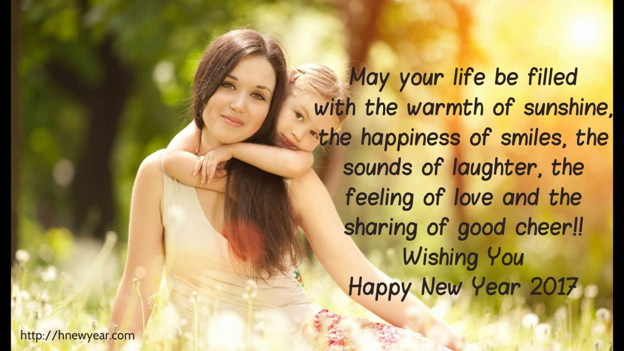 New Mom Quotes Lovely Happy New Year Wishes For Mother  Mom 2017 Quotes  Youtube