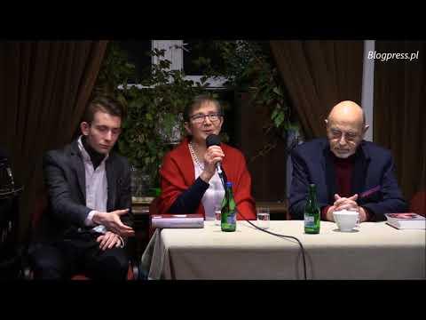 """Wieczór z książką Ewy Polak-Pałkiewicz - """"Czego chcą od nas biedni Niemcy"""" (15.02.2018)"""