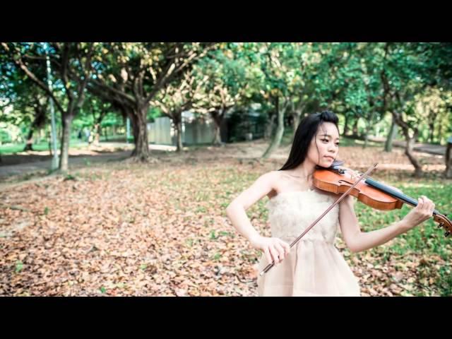 宮本笑里 卡農小提琴版 (圈圈大安森林公園外拍)