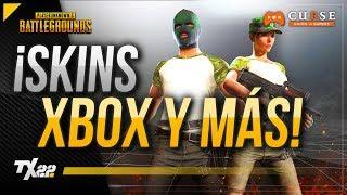 ¡NUEVAS SKINS XBOX, TWITCH Y ARMAS! | PUBG en Español