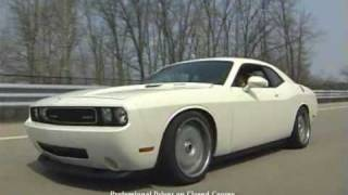 White Dodge Challenger SRT8 - Return to Vanishing Point