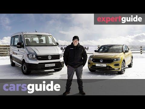 VW 4Motion 2020 review: T-Roc, Golf R, Tiguan, Passat Alltrack, Arteon, Touareg, Amarok, Crafter