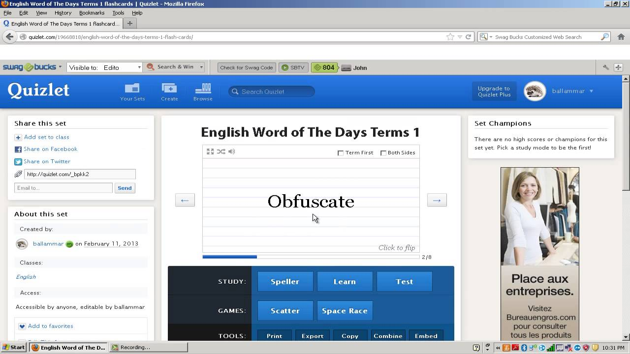 """""""How To Use Quizlet"""" - YouTube"""