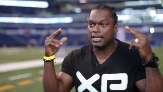 What your eyes see, your body will do - tips from LaVar Arrington