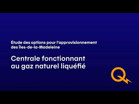 Conversion de la centrale actuelle au GNL