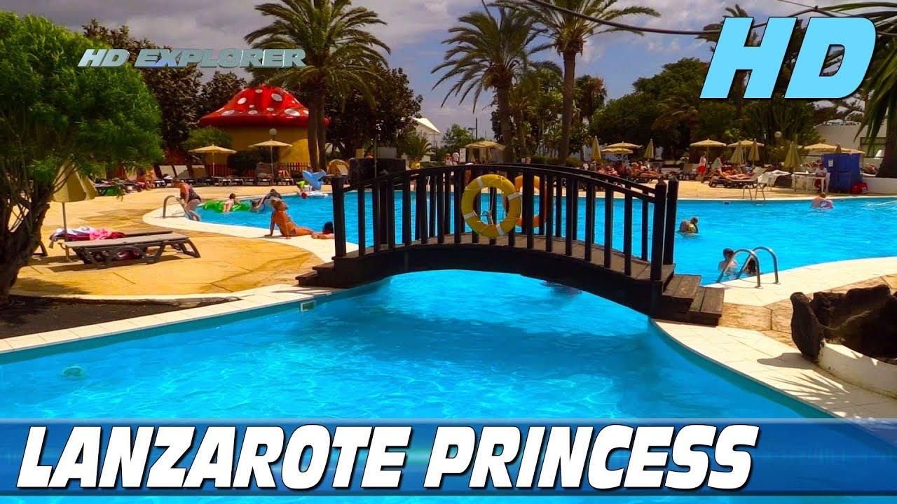 Sandos Papagayo Beach Resort Hotel Map%0A Hotel H   Lanzarote Princess  Lanzarote  Spain