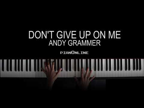 Don't Give Up On Me - Andy Grammer - Piano Tutorial - Five Feet Apart (A Dos Metros De Ti) Cover V2