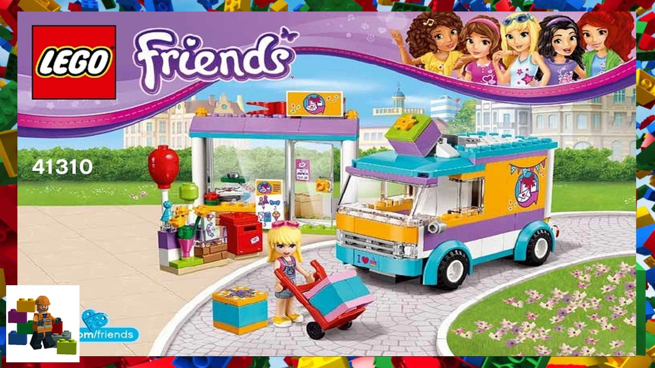 Lego Instructions Friends 41310 Heartlake Gift Delivery Youtube