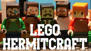 Lego HermitCraft Stop Motion: Scar becomes Mayor    The HermitBrick