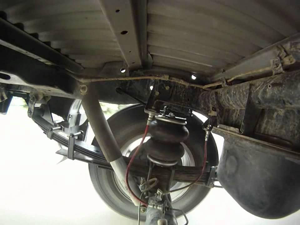 Air Bag Suspension Kit >> Mitsubishi Triton Rear Suspension Road Test - YouTube