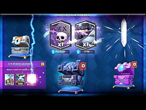 Opening ALL *NEW* CHESTS in Clash Royale - MAX OUT 2 LEGENDARY CARDS!! (Molt Clash Royale)