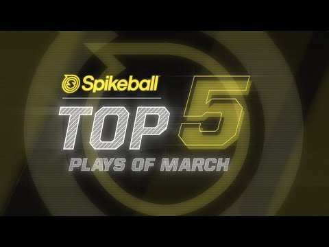 Spikeball Top 5 Plays Of March