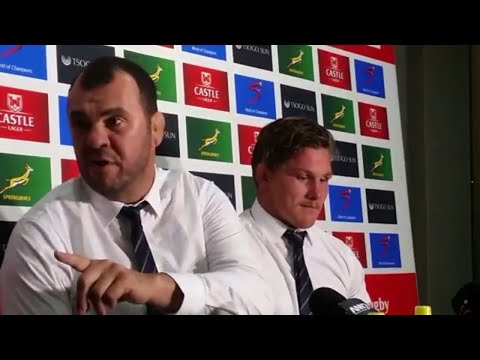 Michael Cheika's heated exchange with journalists